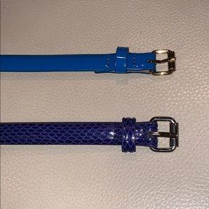 *2 bundled* Ann Taylor Size M Belts!